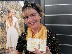 Nähanleitung Haarband mit Antirutschfunktion Birgit mit Jubiläumsbox