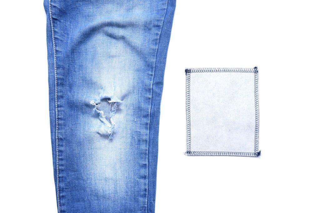 Tutorial Jeansreparatur die dritte Variante