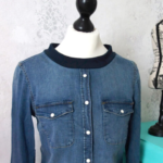 Jeans-Upcycling: Vom Hemd zum Sweatshirt