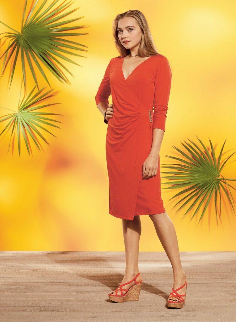 Jerseykleid aus der BERNINA inspiration
