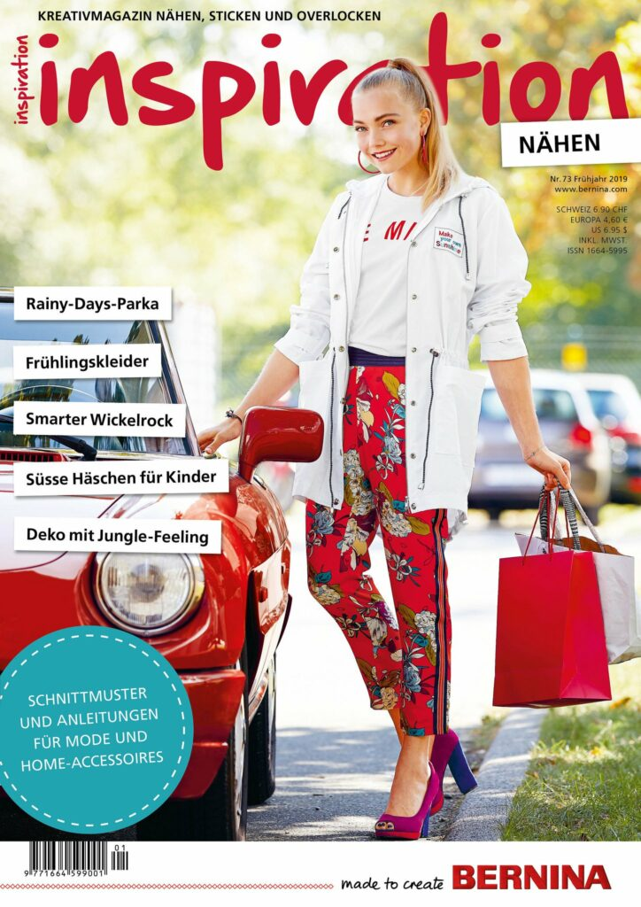 BERNINA Magazin inspiration, Ausgabe 73