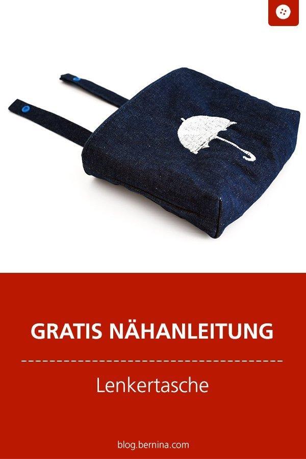 Kostenlose Nähanleitung : Lenkertasche nähen #lenkertasche #nähanleitung #nähenfürkinder #nähenmachtglücklich #nähen #tutorial #freebook #freebie #kostenlos #nähanleitung #diy #bernina #sewing