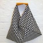 Nähprojekt für Anfänger: die Origami-Bag