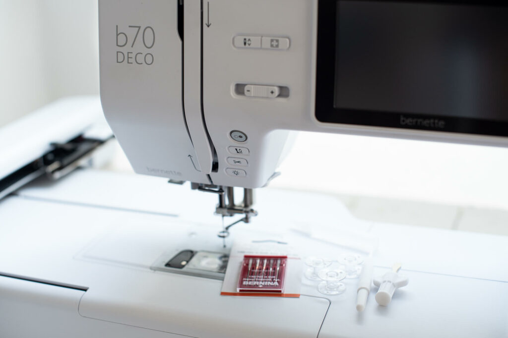 Die neue Stickmaschine mybernette b70 DECO ist da!