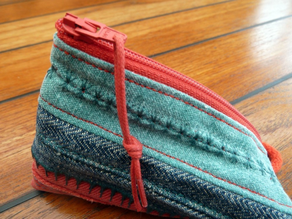 Jeansrecycling: Taschen nähen