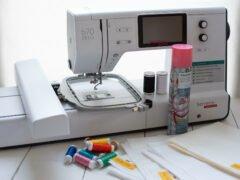 Die perfekte Grundausstattung für Stickanfänger - bernette Stickmaschine b70 DECO