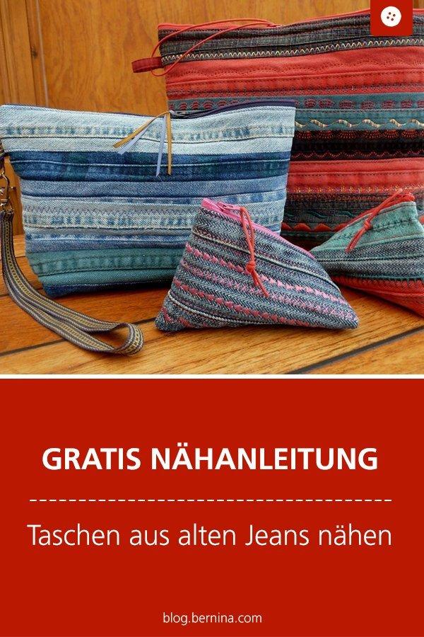 Upcycling: Taschen aus alten Jeans nähen