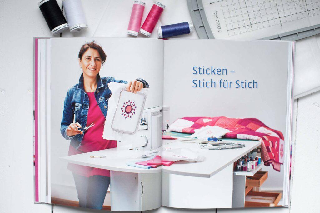 """Buchvorstellung """"Sticken - Meine Ideen auf Stoff"""" mit Verlosung"""