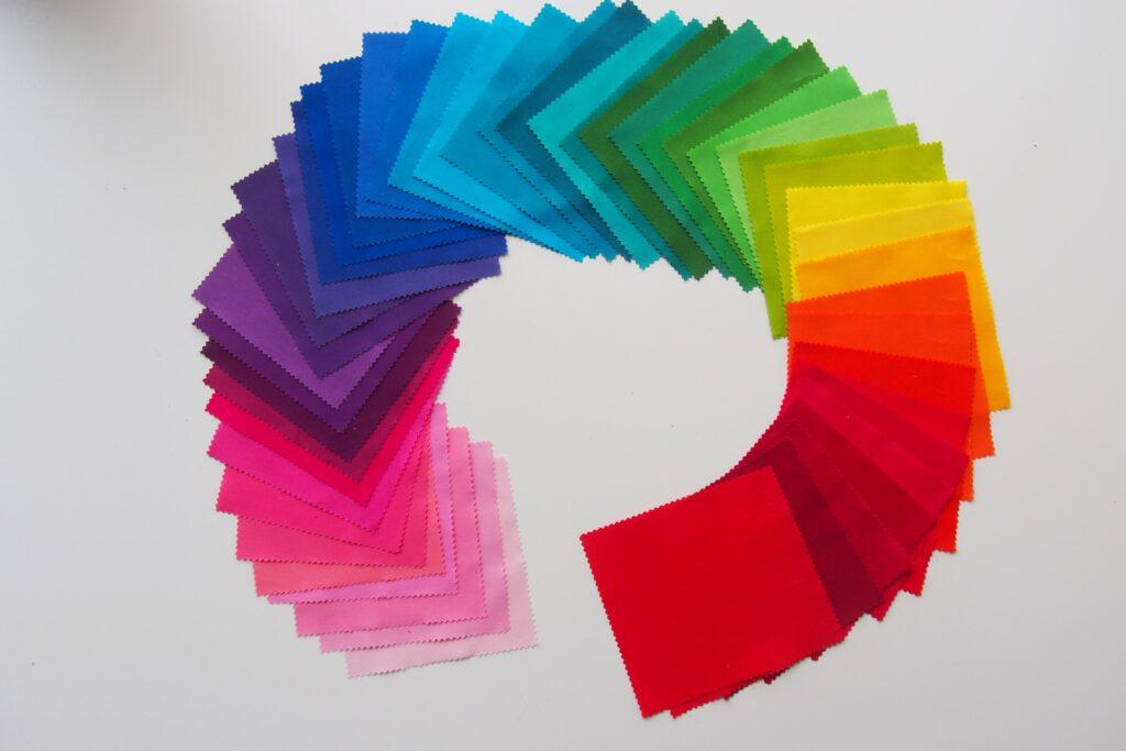 HST Rainbow Tablerunner