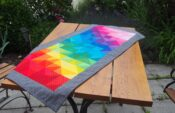 Half Square Triangles Rainbow