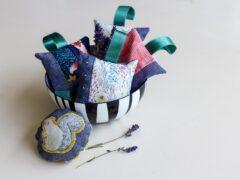 Duftkissen mit Lavendel gefüllt