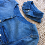 Upcyclingprojekt Jeans-Hemd