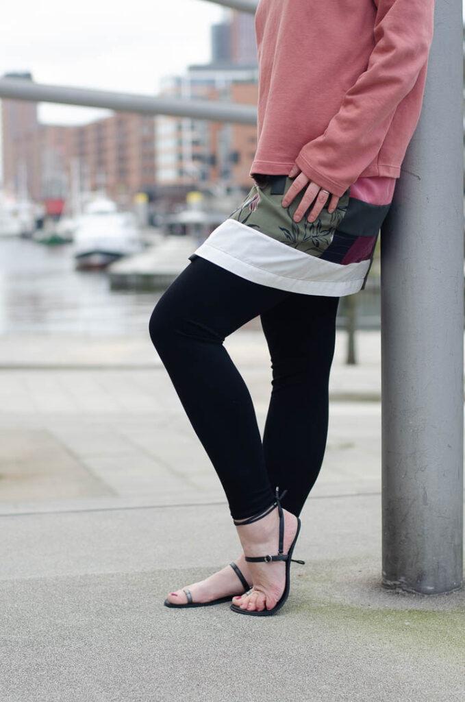 Damen-Leggings nähen: Anleitung mit Freebie-Schnittmuster