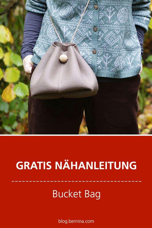 Kostenlose Nähanleitung: Bucket Bag