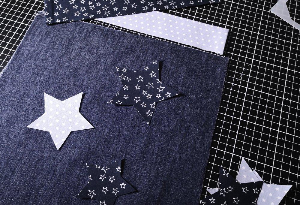 Geschenkzak met sterren
