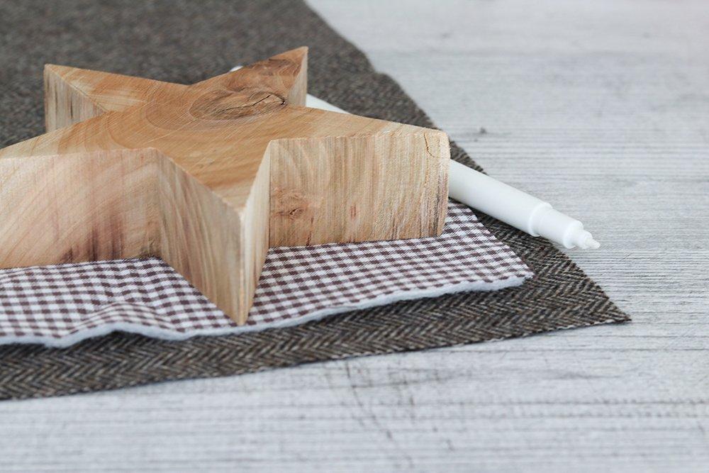 Schablone aus Holz