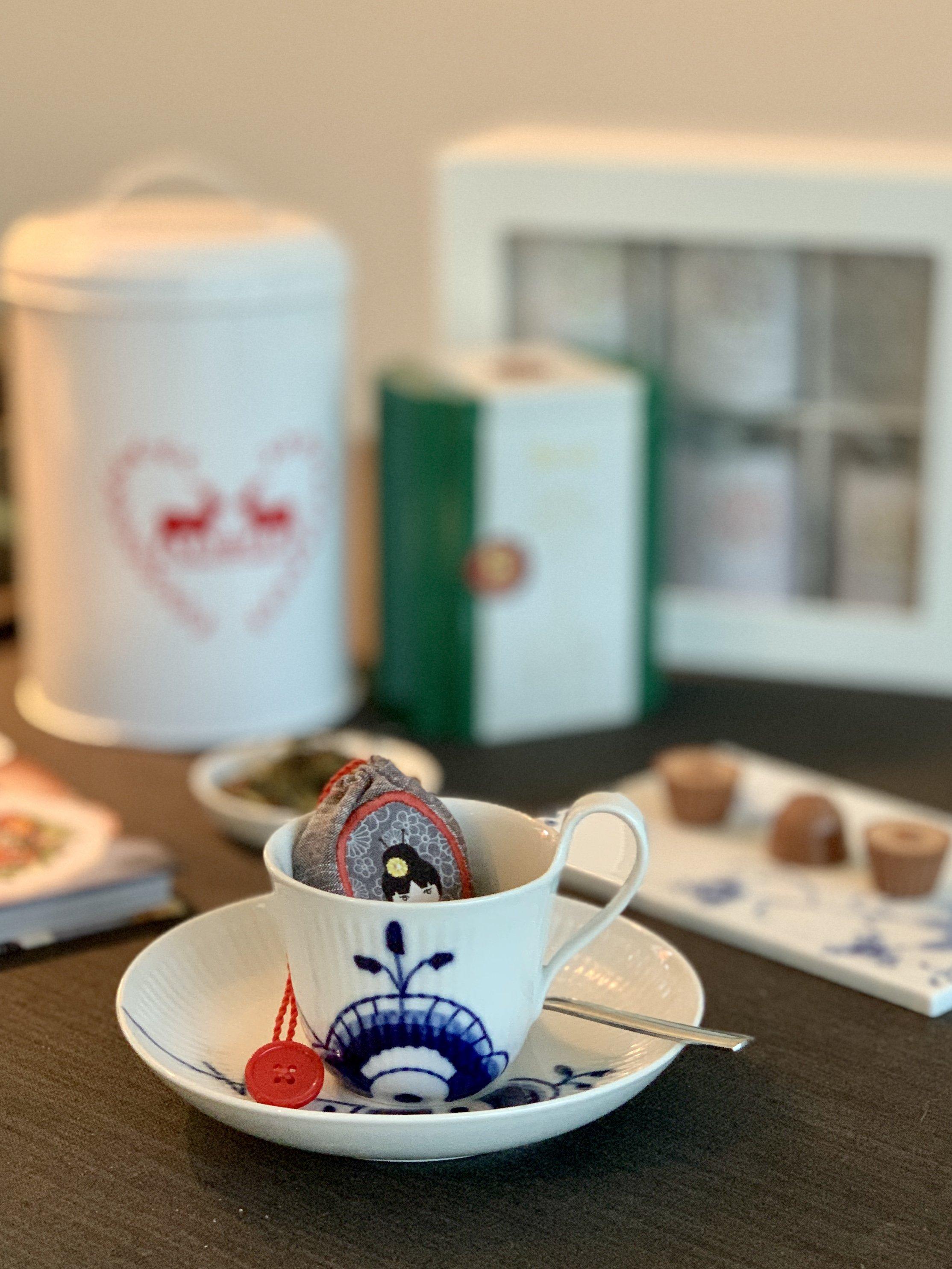 Reusable Teabag A Sustainable Gift Idea Bernina Blog
