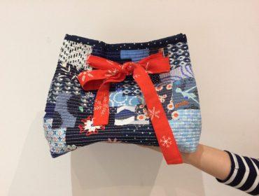 Boro-Bag – Geschenkverpackung aus Stoffresten nähen (mit Gratis Schnittmuster)