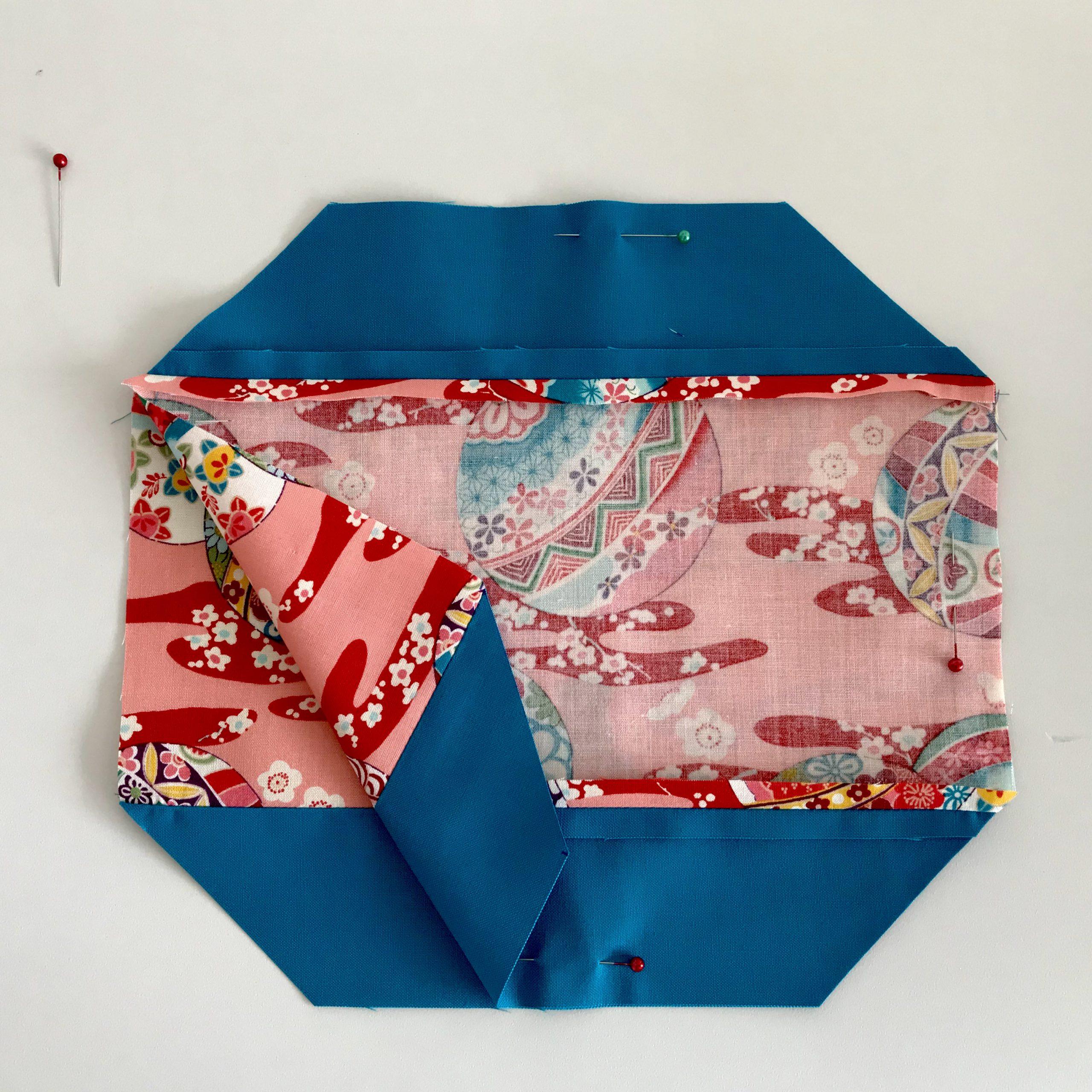 Behelfsmaske nähen im asiatischen Stil – Origami :-)