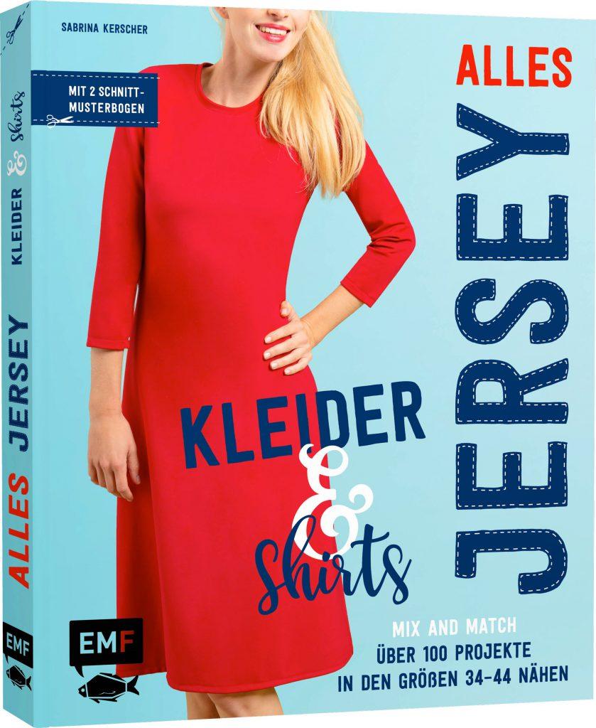 Buch-Cover Kleider und Shirts, alles Jersey