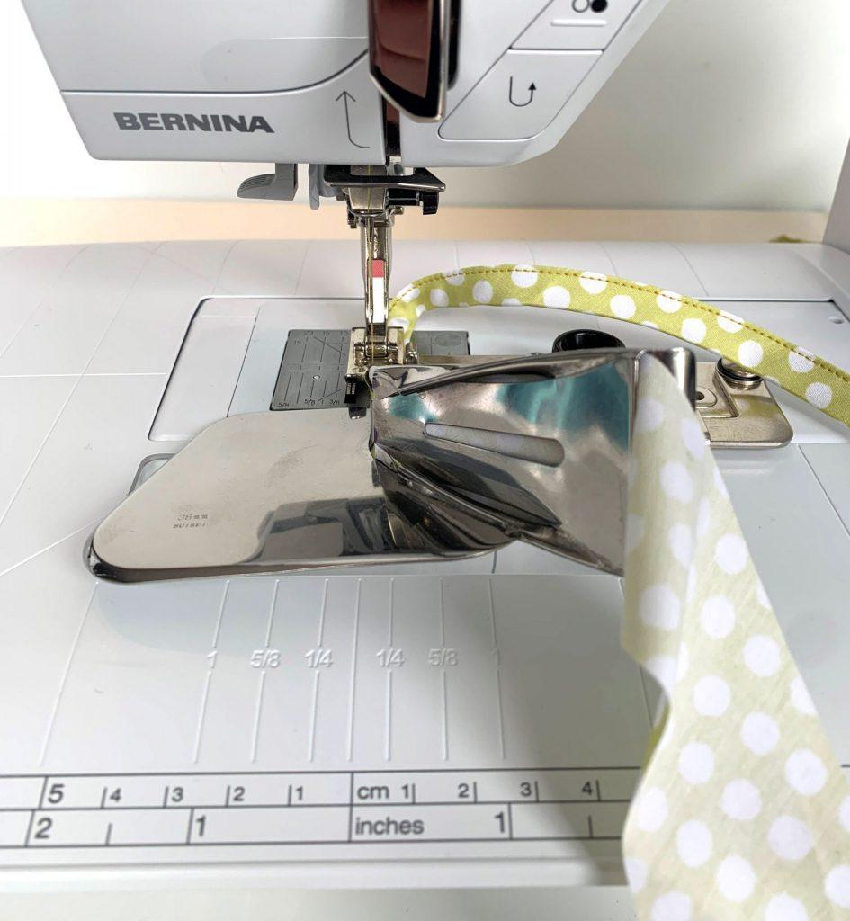 Bindebänder für Behelfsmasken selber nähen