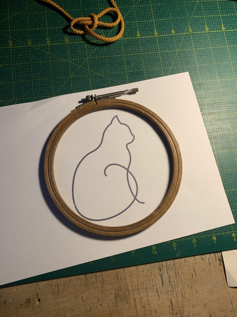 Hier ein Beispiel eines modernen Katzen-Designs