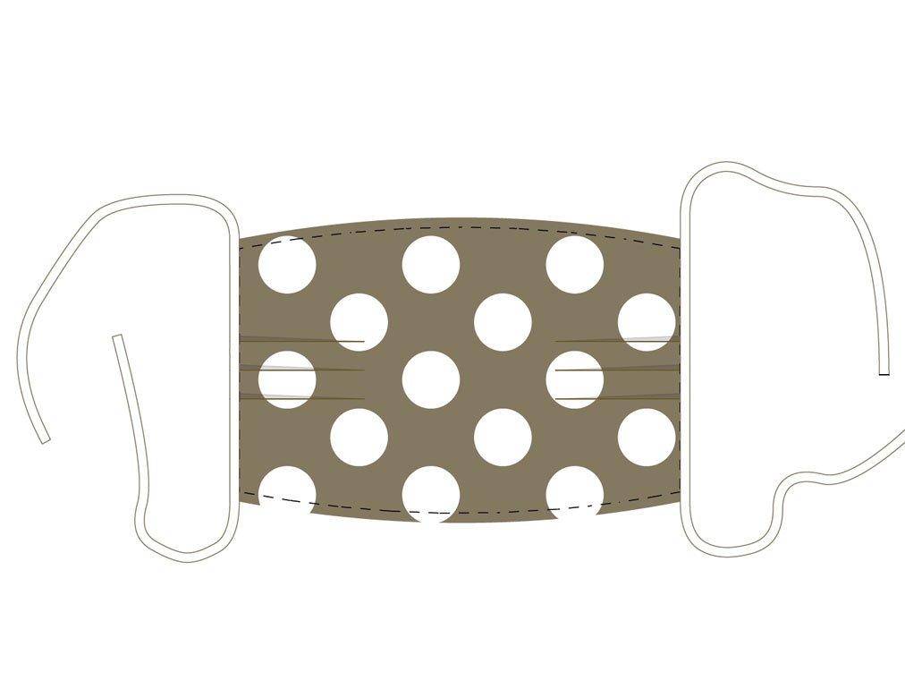 Fertige Maske mit Elastband