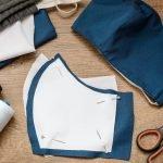 Behelfsmasken nähen - die ergonomische Form