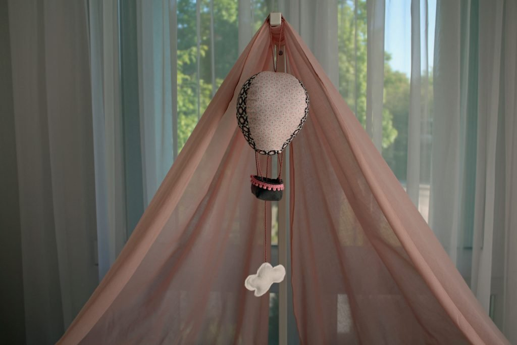 Heißluftballon-Spieluhr