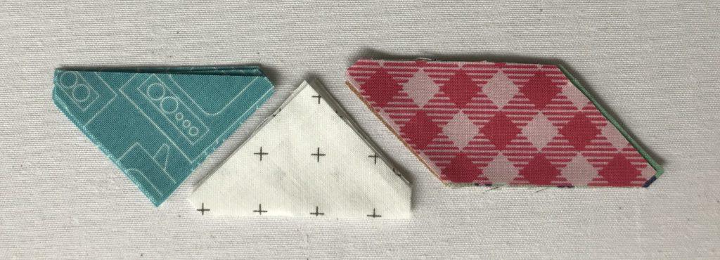 Quilt nähen Anleitung – Dreiecke