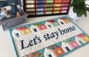Quilt nähen – ein Quilt für die Zeit zuhause