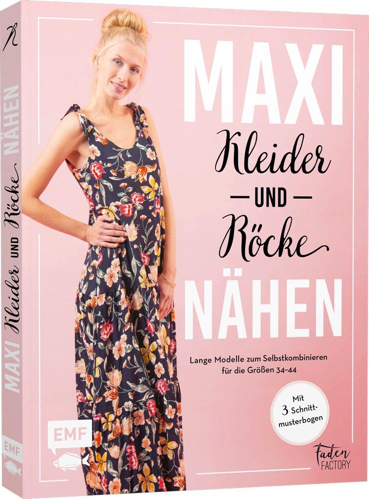 Buchcover Maxikleider und Röcke nähen