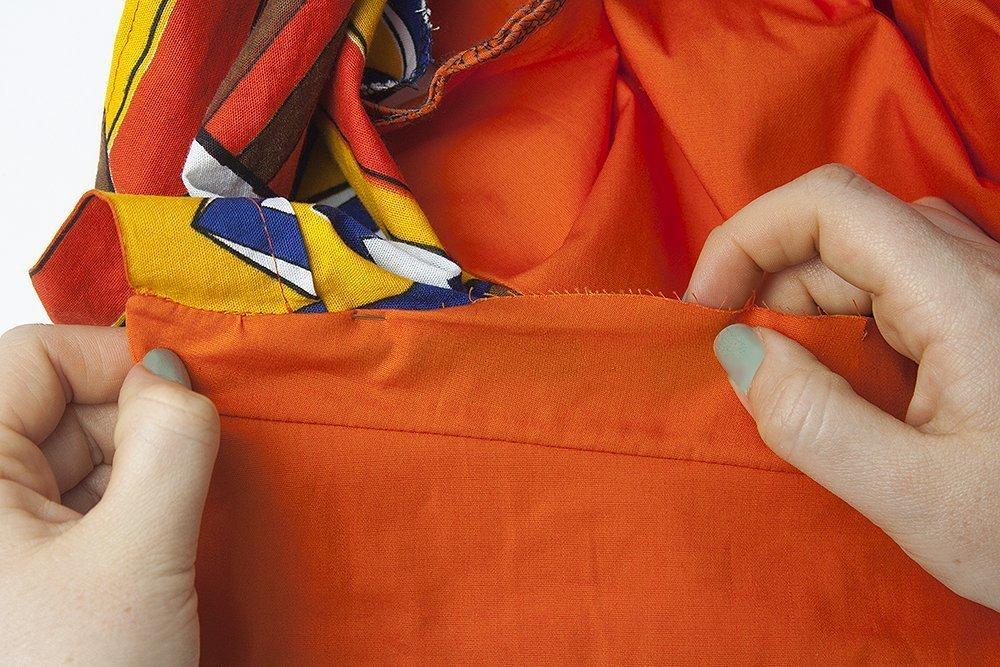Anleitung zum Hemdkragen nähen