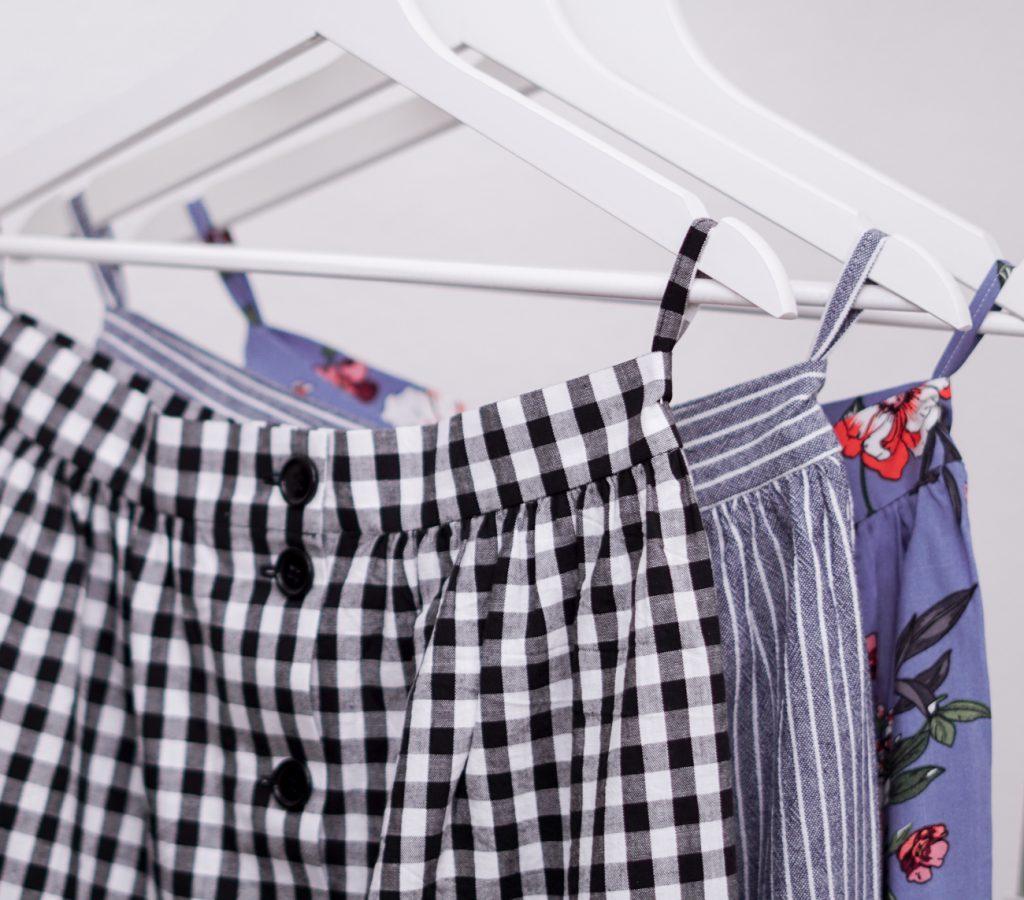Selbstgenähte Kleidung