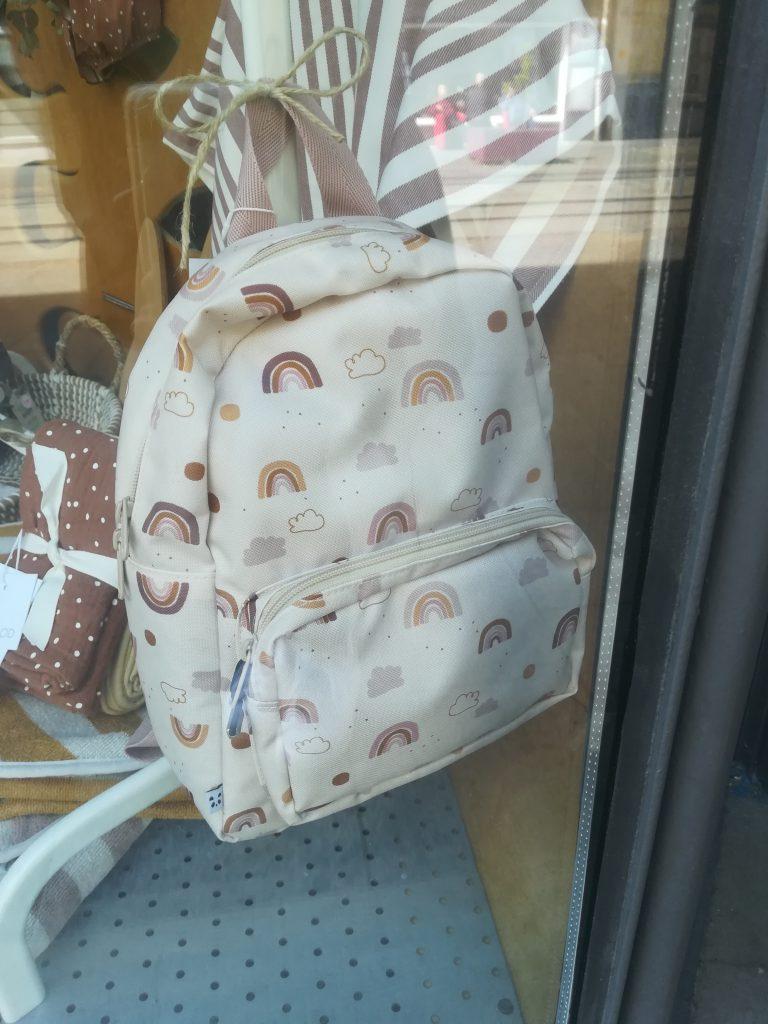 Kinder-Rucksack mit Regenbögen