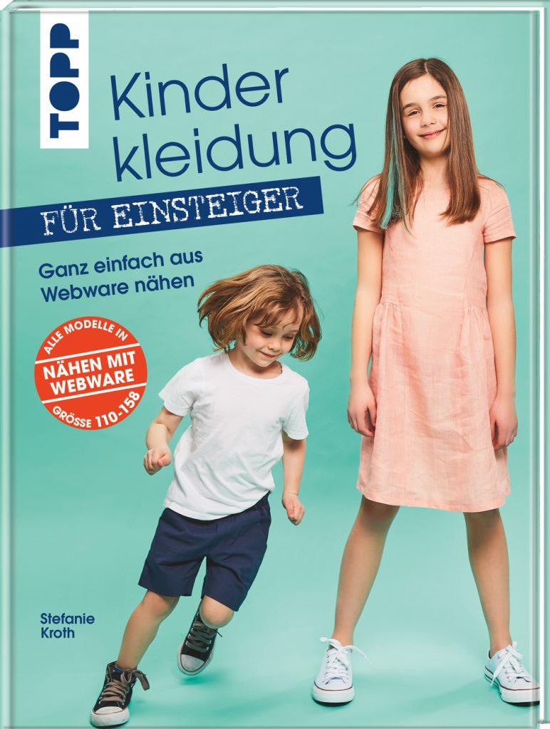 Buchcover Kinderkleidung nähen