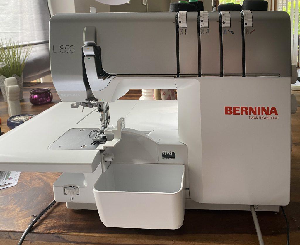 BERNINA L 850 - Näherfolg von Anfang an!