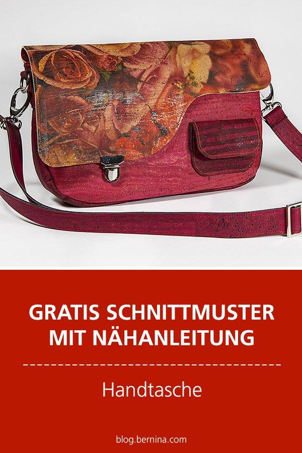 Gratis-Schnittmuster & Nähanleitung: Pocketbag - Handtasche