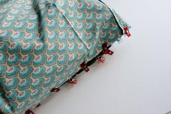 Tasche zusammen nähen
