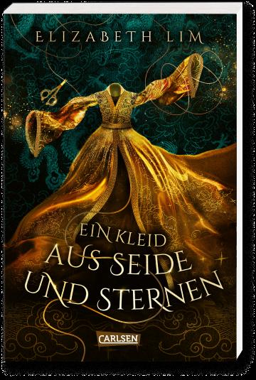 """Buchcover """"Ein Kleid aus Seide und Sternen"""""""