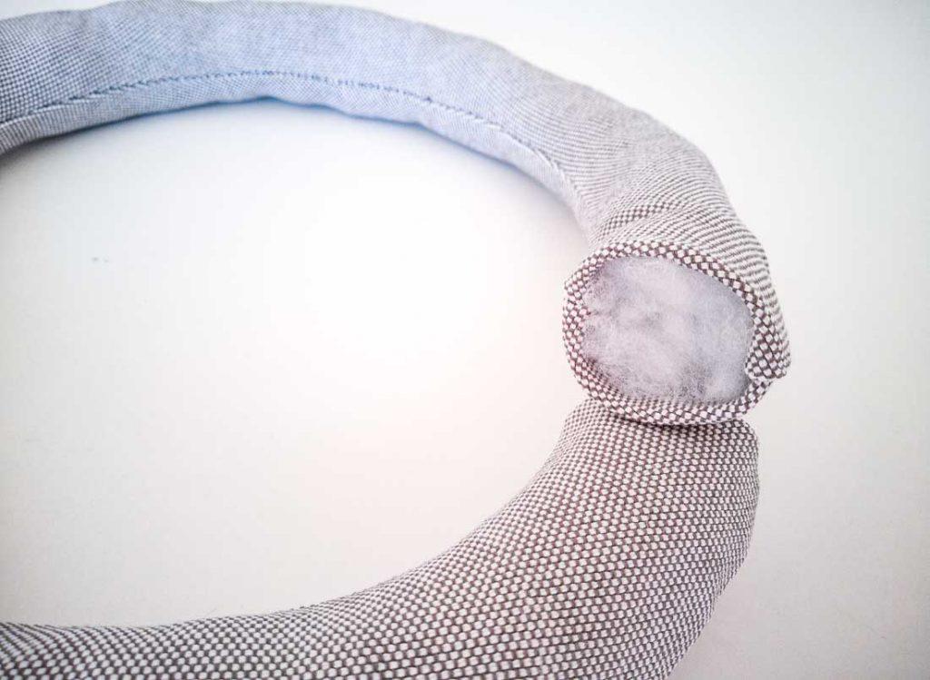 Ring für Sitzball nähen Anleitung