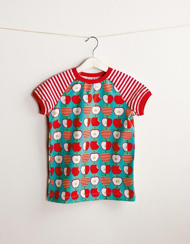 Kurzarmshirt für Kinder nähen