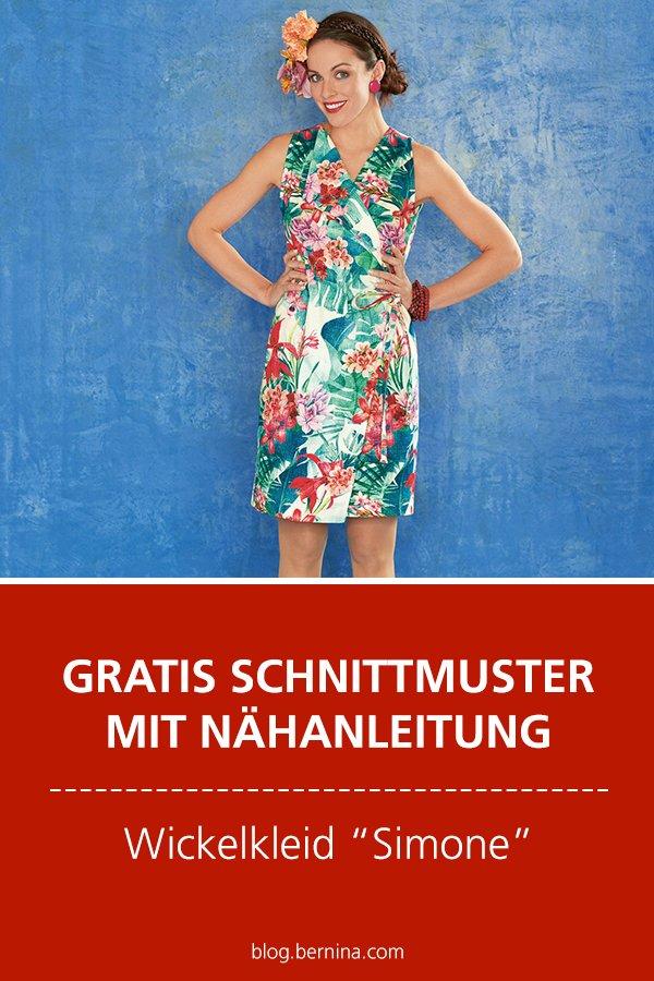 "Gratis-Schnittmuster & Nähanleitung: Kleid ""Simone"""