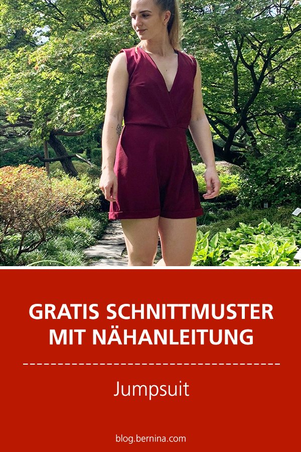 Gratis-Schnittmuster & Nähanleitung: Jumpsuit