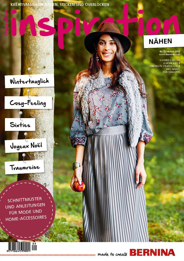 Titelseite inspiration Magazin Ausgabe Nr. 72