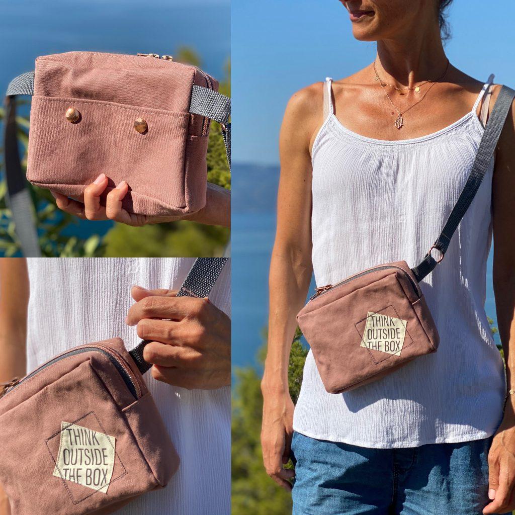 Tasche nähen – Anleitung für eine Variante der anderen Tasche
