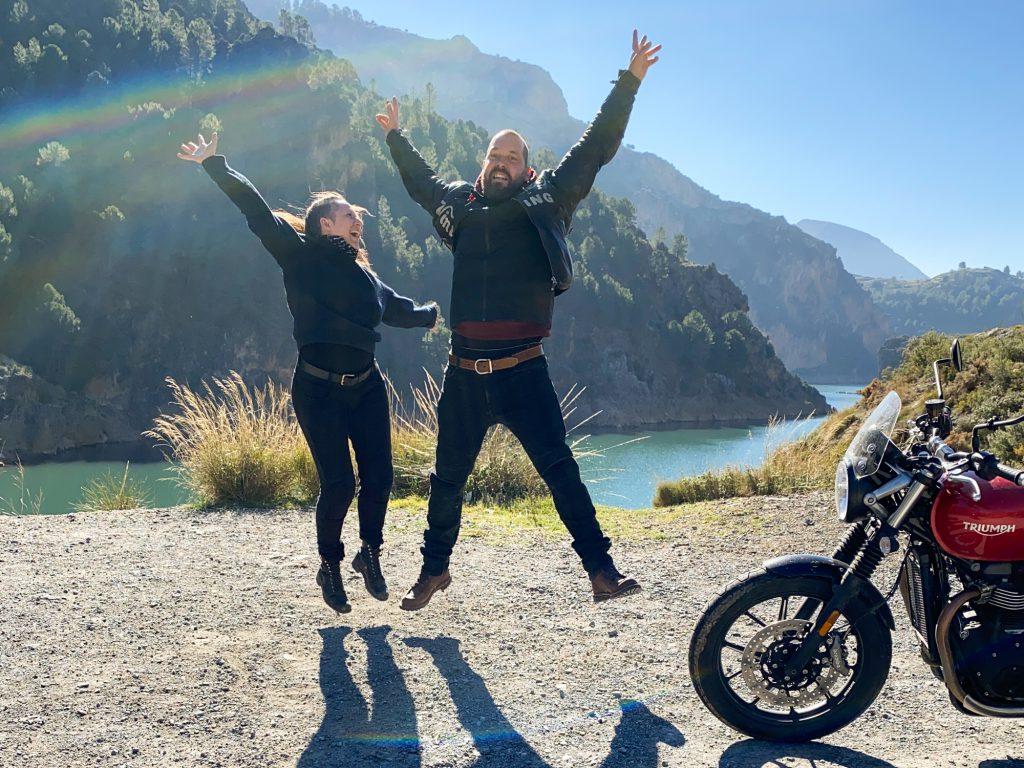 Motorrad-Tour durch Amerika
