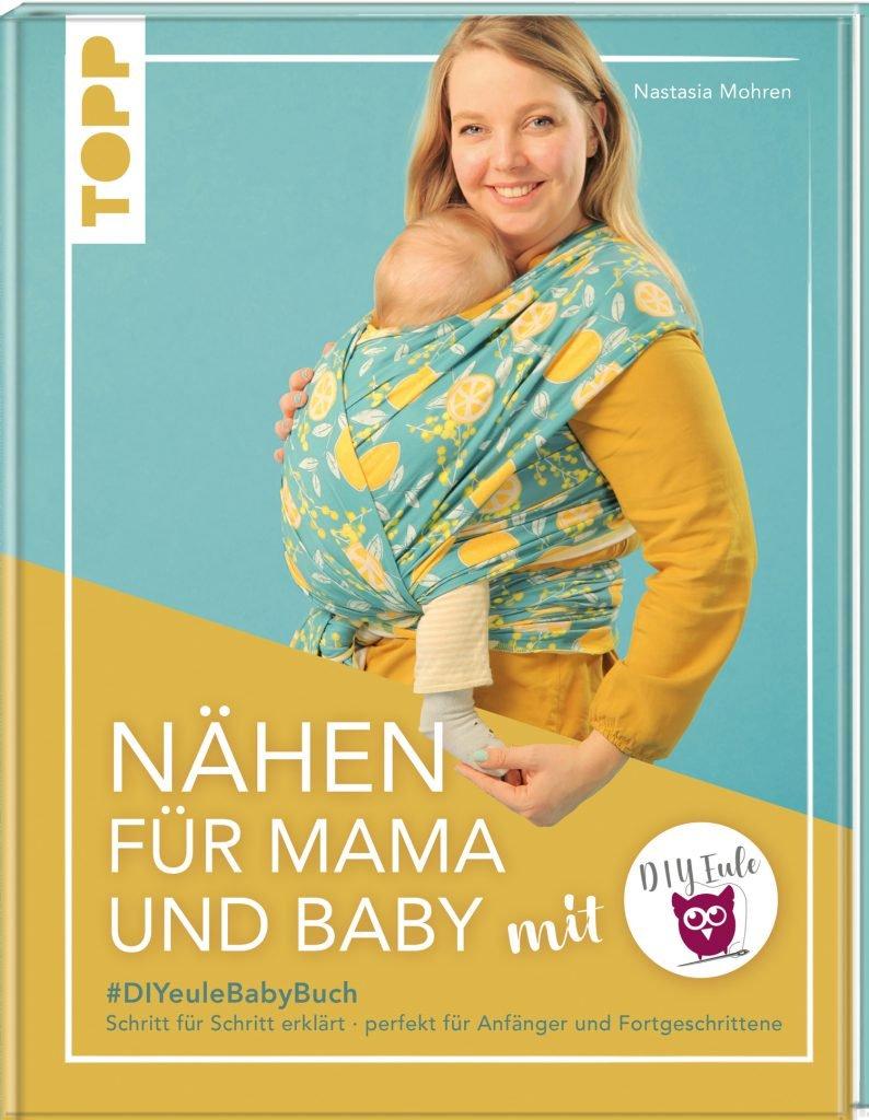 """Buchcover """"Nähen für Mama und Baby"""""""