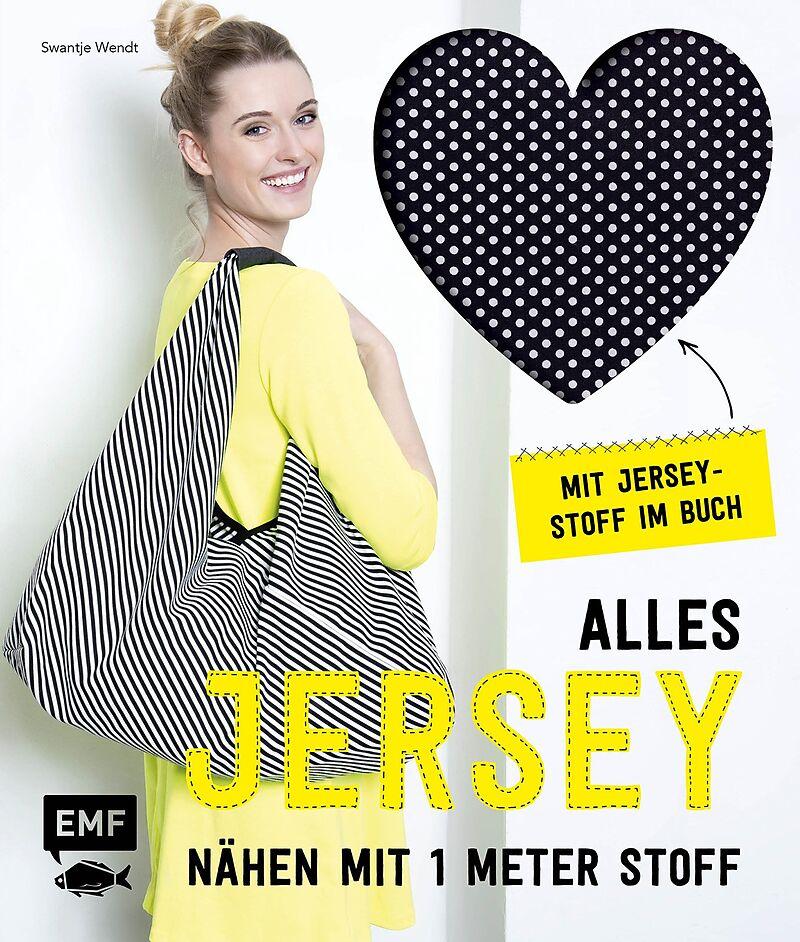 Buchcover: Alles Jersey, nähen mit 1 Meter Stoff