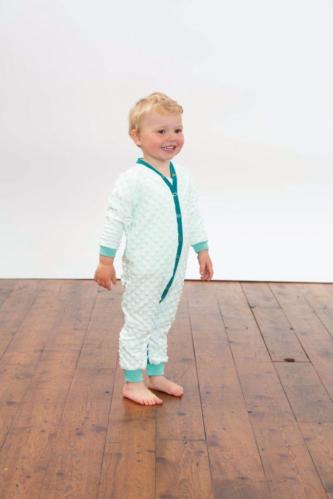 Schlafanzug nähen für Babys und Kinder